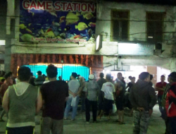 Kapolres Sibolga Pimpin Penggrebekan Mesin Judi Berkedok Permainan Anak-anak