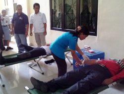 Peringati HUT MA ke 71, PN Sibolga Gelar Aksi Donor Darah