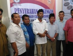 Balon Independen Awaluddin Rao- Sokhizaro Laia (RASOKI) Serahkan Dukungan ke KPU