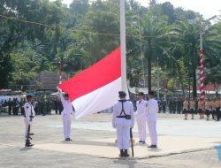 Upacara Bendera 17 Agustus Kota Sibolga Digelar di Lapangan Simaremare