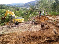 Warga Sambut Baik Pembukaan Jalan Program TMMD Kodim 0206/Dairi