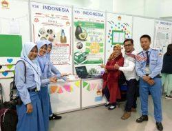 Siswa SMAN 1 Matauli Raih Medali Emas pada Kompetisi Inovasi di Taiwan