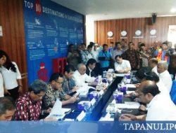 Bupati Tobasa Bersama Luhut Panjaitan Bahas Pengembangan Infrastruktur Pendukung Pariwisata Danau Toba