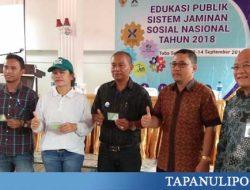 Dewan Jaminan Sosial Nasional Gelar Edukasi Publik di Tobasa