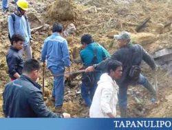 Longsor Timbun 3 Rumah di Tobasa, 2 Orang Tewas, 8 Belum Ditemukan
