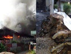 5 Unit Sepeda Motor Hangus Terbakar di Tapteng