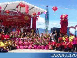 Atraksi Barongsai Jadi Daya Tarik pada Perayaan Imlek 2570 di Simalungun