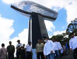 Bupati Simalungun Tinjau Pembangunan Monumen Tragedi KM Sinar Bangun di Tigaras