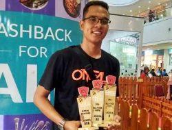 Peserta Kontes Ular Piton Asal Tapteng Borong Juara 1,2,3 di Medan