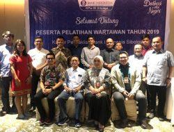 Wartawan Sibolga Ikuti Pelatihan di Jakarta