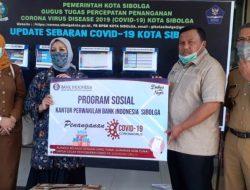 Bank Indonesia Beri Bantuan APD ke Pemko Sibolga