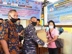 Pemko Sibolga Salurkan Sembako dari Provsu Serentak di 4 Kecamatan