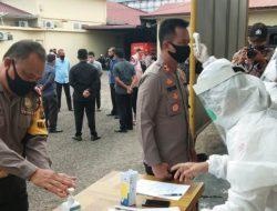 Hasil Rapid Test 4 Polisi di Sibolga Dinyatakan Reaktif COVID-19