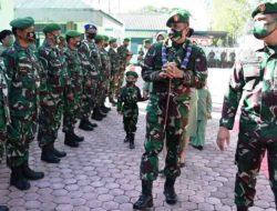 Danrem 023/KS Kolonel Inf Febriel Buyung Sikumbang Disambut Tarian Hera-Hera