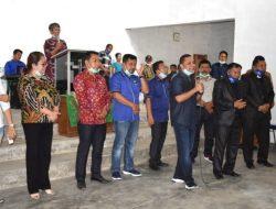 Bupati Tapteng Beri Bantuan Pembangunan 2 Gereja di Kecamatan Sorkam Barat