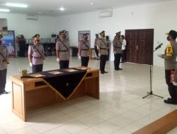 Kapolres Sibolga Pimpin Sertijab Waka Polres dan 2 Kasat