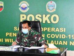 Danrem 023/KS Vicon dengan Waasops Panglima TNI