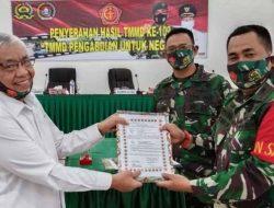 Danrem 023/KS Saksikan Penyerahan Hasil Kerja TMMD Ke-109 di Humbahas