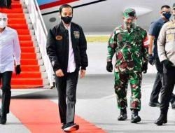 Tiba di Bandara Internasional Silangit, Presiden Jokowi Langsung Menuju Food Estate di Humbahas