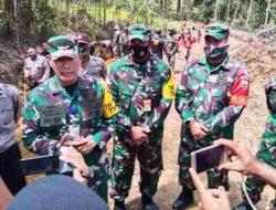 Tim Wasev Mabes TNI Tinjau Kegiatan TMMD Ke-109 Kodim 0210/TU di Humbahas