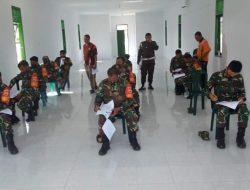 Prajurit Kodim 0211/TT Ikuti Ujian Pembuatan SIM TNI di Denpom I/2 Sibolga