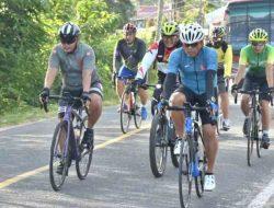 Danrem 023/KS Ajak Prajurit Bersepeda dari Sibolga ke Barus