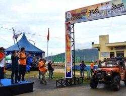 Puluhan Offroader Bertarung Jelajahi Pesona Alam Tapanuli Tengah