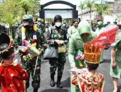 Kunjungi Korem 023/KS, Ini Pesan Pangdam I/BB Mayjen TNI Hassanudin Kepada Prajurit