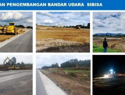 Begini Perkembangan Pembangunan Bandara Sibisa di Toba