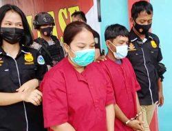 Polres Tapteng Tangkap Wanita dan Pria Bawa Belasan Bal Ganja