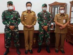 Danrem 023/KS Kunjungan Silaturahmi ke Pemkab Humbahas