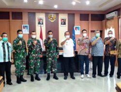 Danrem 023/KS Jalin Silaturahmi dengan Wali Kota Sibolga yang Baru