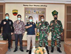 Danrem 023/KS Terima Kunjungan Silaturahmi Kepala Imigrasi Sibolga Saroha Manullang