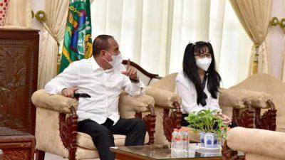 Gubernur Edy Rahmayadi Ajak Warga Sumut Dukung Nikita