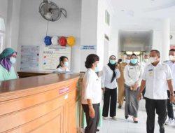 Wali Kota Sibolga Jamaluddin Pohan Sidak RSU FL Tobing
