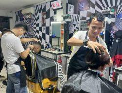 Pangkas Gratis di Acara Peresmian Otta Mar1 Barbershop