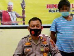 Pria Warga Sibolga Ini Ditangkap Polres Tapteng di Atas Kapal