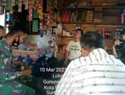 Satgas TMMD Ke-110 Kodim 0213/Nias Gelar Komsos dengan Warga Desa Loloana'a Lolomoyo