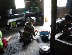 Suasana Rumah Ina Zalukhu Berubah Sejak Kehadiran Tentara