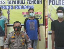 Polisi Tangkap Pencuri dan Penadah HP Wartawan