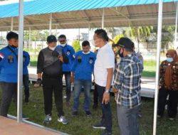 Wali Kota Sibolga Tinjau Tempat Relokasi Pedagang di Stadion Horas