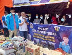 Ketua KNPI Tapteng Rahmansyah Sibarani Bantu Korban Kebakaran di Sibolga dan Mela