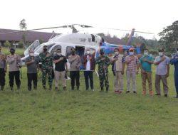 Pangdam I/BB dan Kapolda Sumut Kunjungi Taput Terkait Warga Satu Dusun Terpapar Covid-19