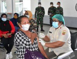 Danrem 023/KS Targetkan Seluruh Purnawirawan dan Warakauri Mendapatkan Vaksinasi COVID-19