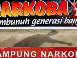 Polisi Gerebek Lokasi Diduga Kampung Narkoba di Tapteng