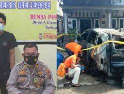 Polisi Tangkap Pelaku Pembakaran Mobil Anggota DPRD Tapteng