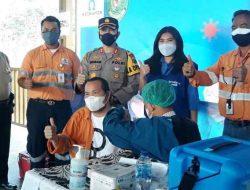 Tambang Emas Martabe Gelar Vaksinasi Gotong Royong Tahap Pertama