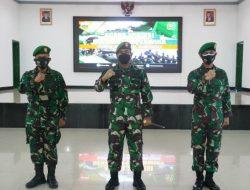 Danrem Ucapkan Selamat Datang Kepada 2 Perwira Baru di Korem 023/KS