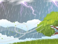 BMKG: Waspada Hujan Disertai Angin Kencang di Sibolga dan Tapteng
