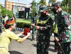 Pangdam I/BB Mayjen TNI Hassanudin Kunjungi Kodim 0213/Nias